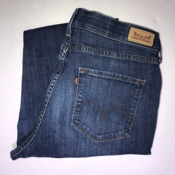 Levi's Denim - Levi's 525 Straight Leg Perfect Waist Jeans 16 30